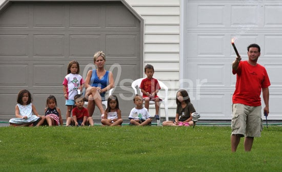 Photos of Jon and Kate Plus 8 Celebrating Fourth of July As Family