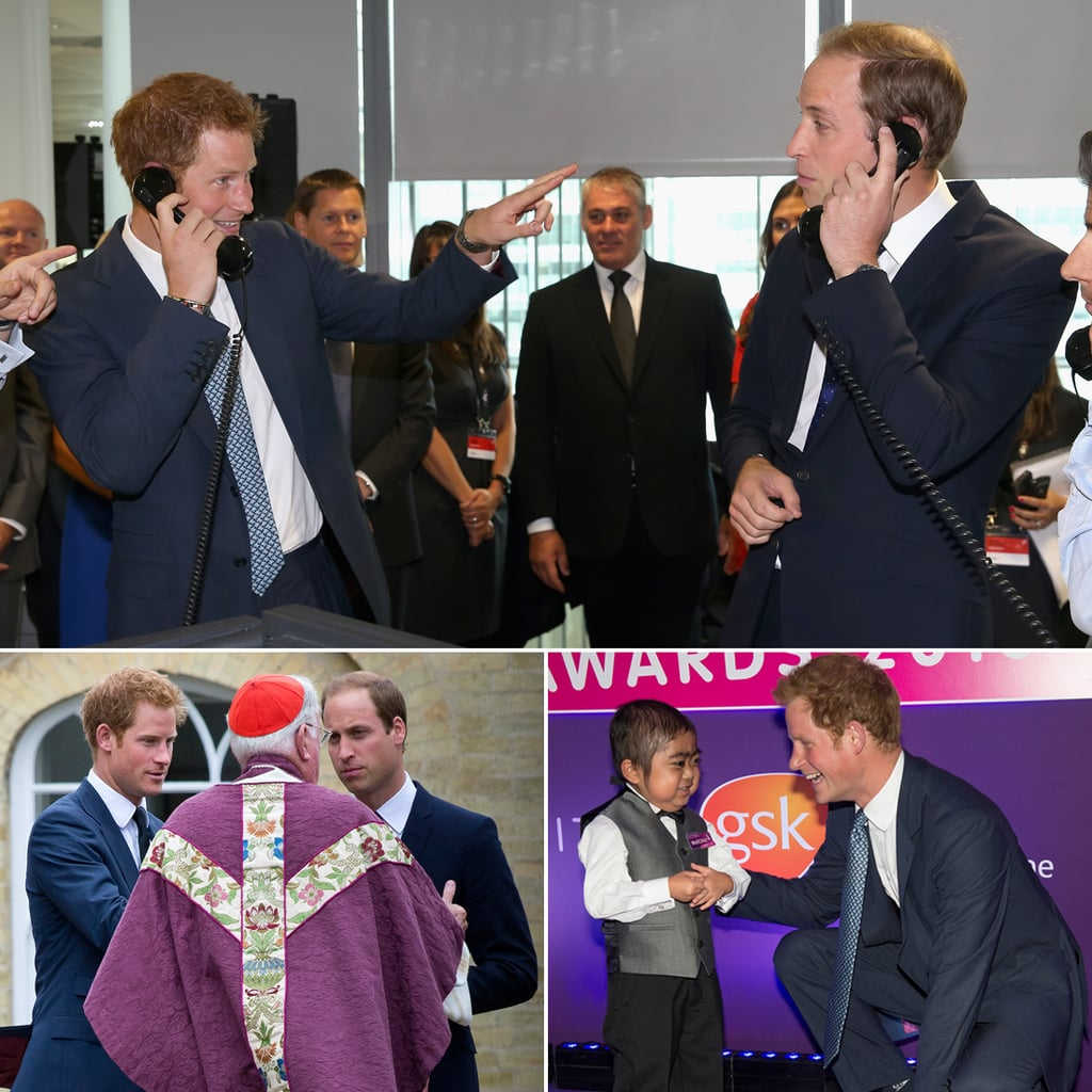 "Prince Harry Scolds Prince William For ""Flirting"" While Playing Stockbroker"