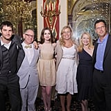 Jim Sturgess, Focus Features CEO James Schamus, Anne Hathaway, director Lone Scherfig, Patricia Clarkson and Focus Features President Andrew Karpen at the One Day after party.