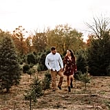 Christmas-Themed Save the Dates