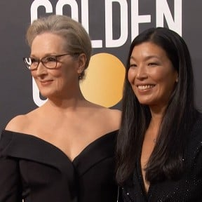 Women Activists on the Golden Globes Red Carpet