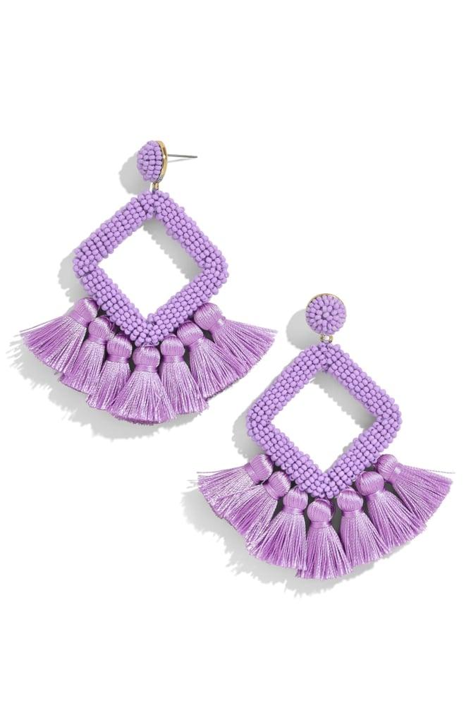 708423705 BaubleBar Laniyah Tassel Statement Earrings | Nordstrom Spring Sale ...