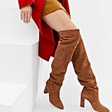 Stradivarius Over the Knee Heeled Boot