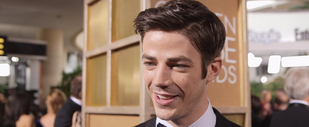 "Grant Gustin: ""I Would Like"" That Rumored Flash-Supergirl Crossover to Happen"