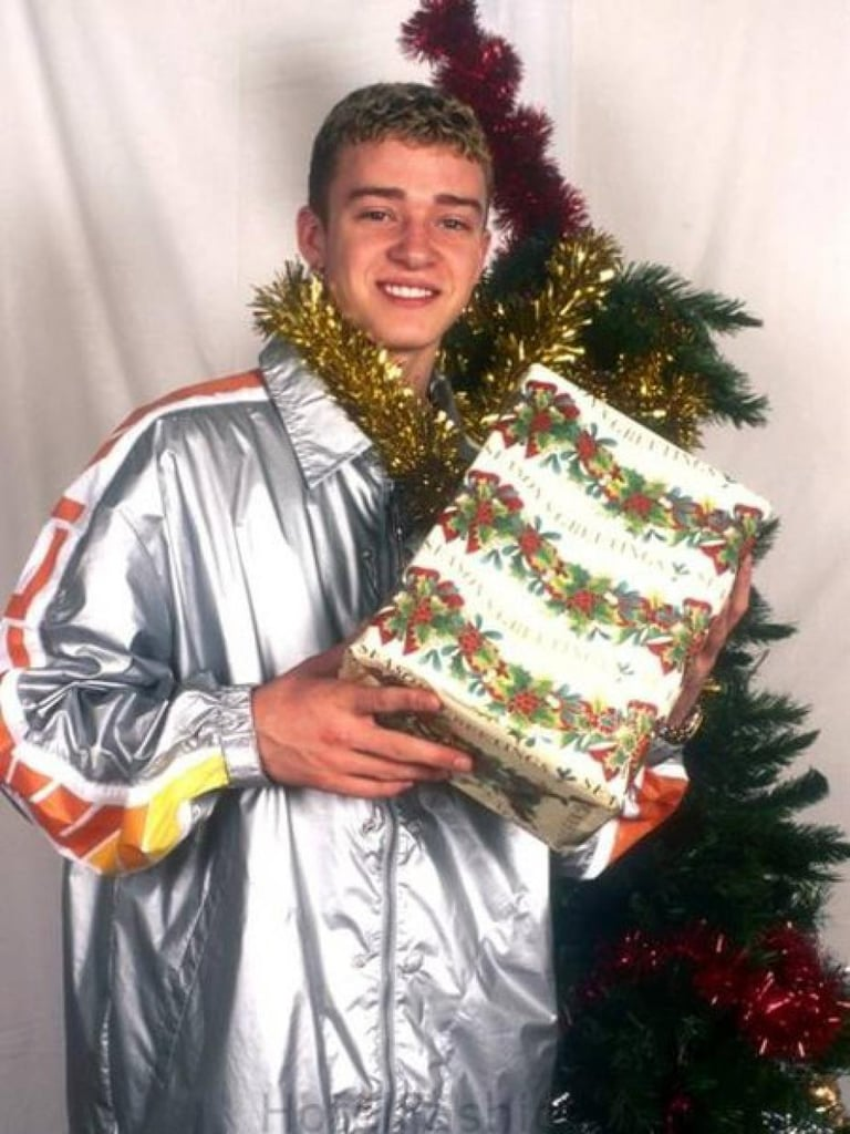 Justin Timberlake With a Dick-less Box