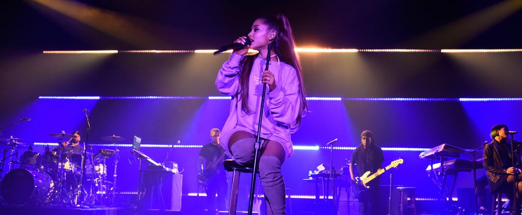 Video of Ariana Grande Restarting a Song So a Fan Can Record