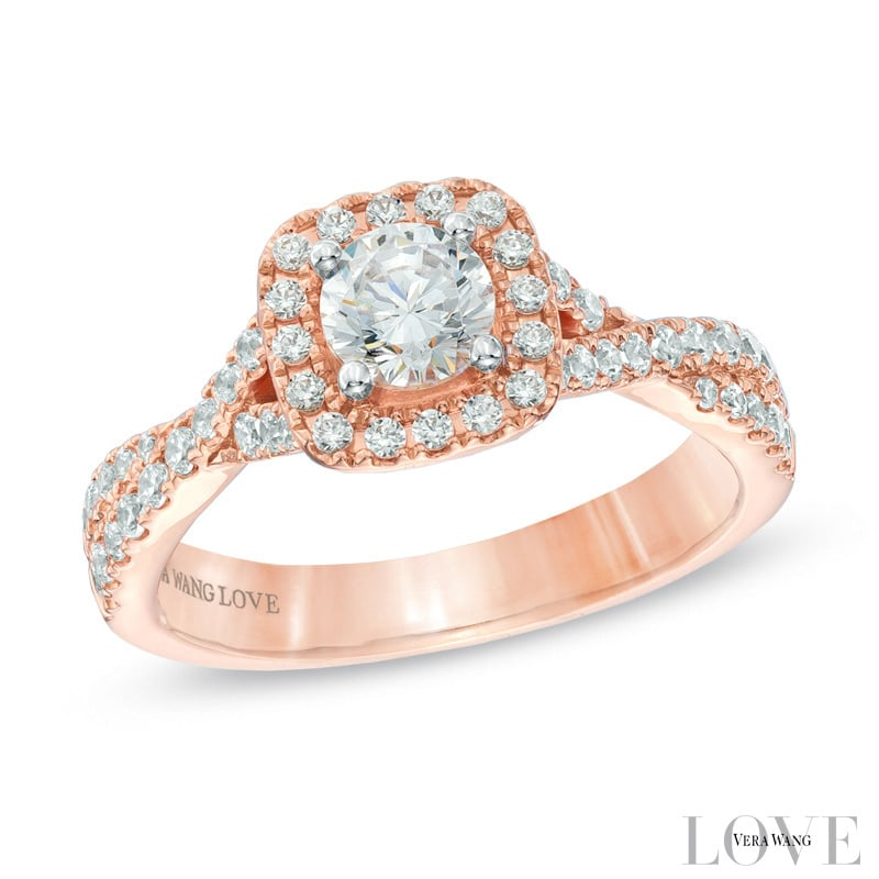 Rose Gold Wedding Ring Ideas POPSUGAR Fashion