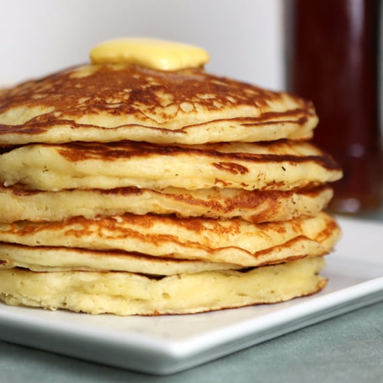 healthy pancake recipe from scratch
