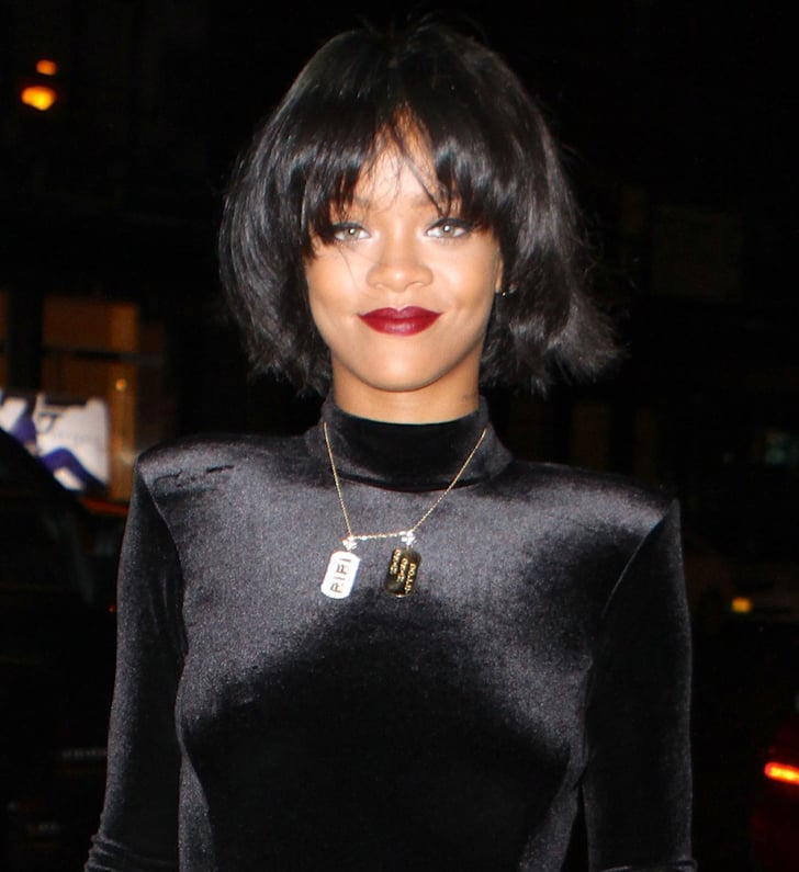 Rihanna and Jessica Pare Show Off New Hairstyle   POPSUGAR Beauty ...