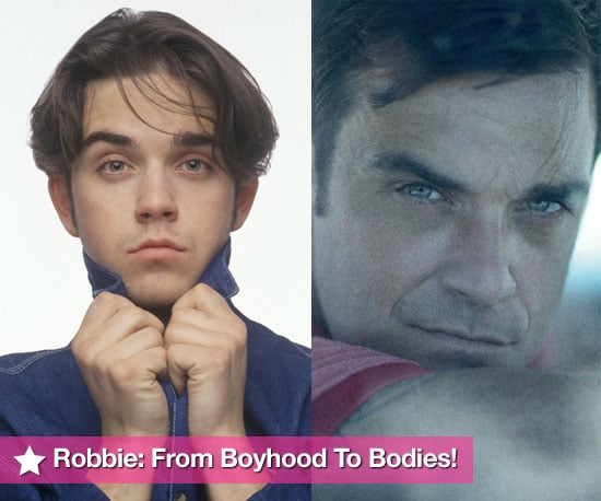 """Photos Of Robbie Williams Since Take That,  Plus Brand New Photo — Single Cover For """"Bodies"""" From """"Video Kills The Radio Star"""""""