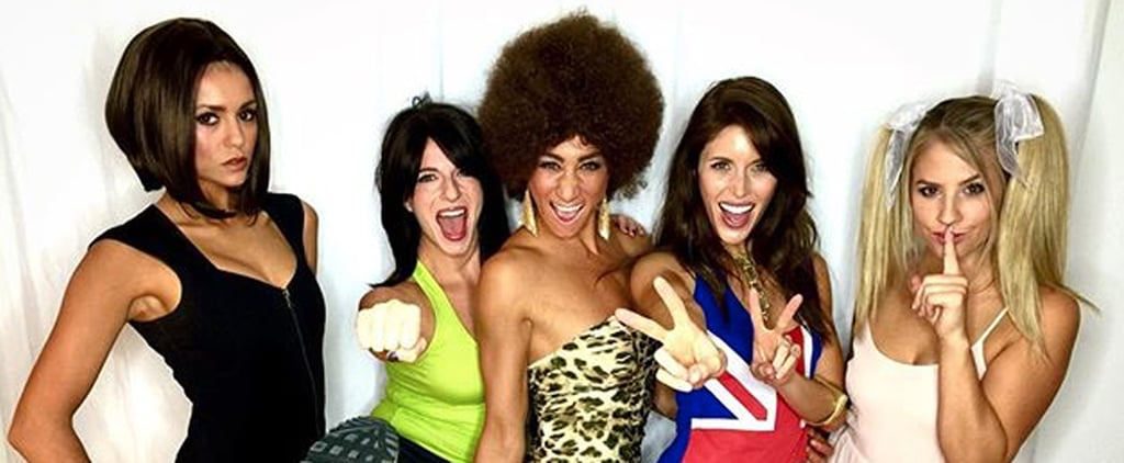 Nina Dobrev and Her Vampire Diaries Costars Channel the Spice Girls For Halloween