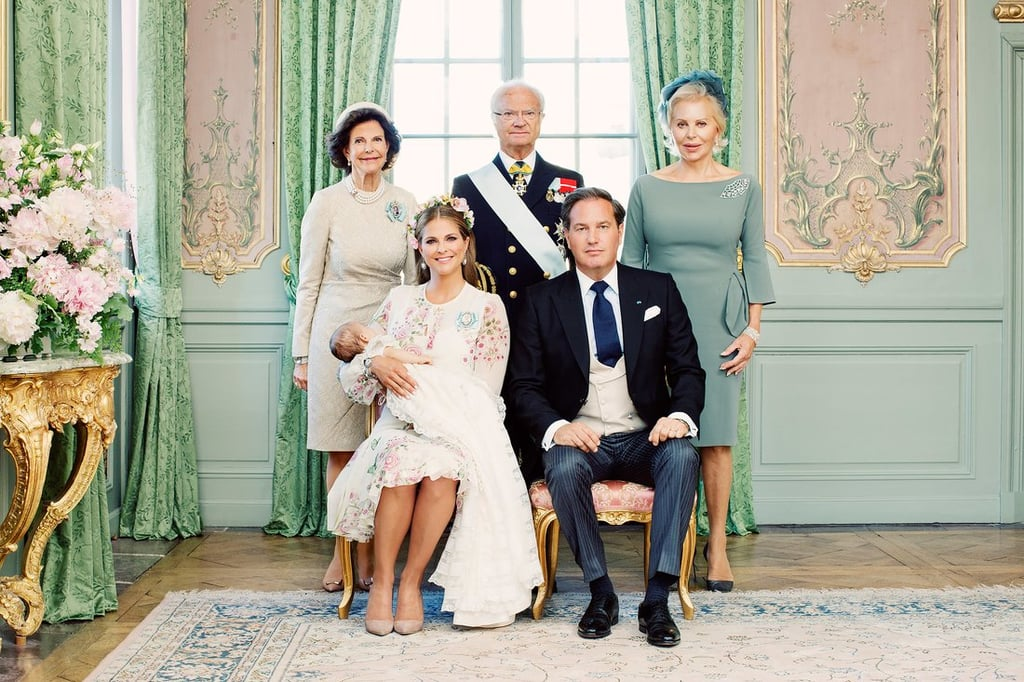 Princess Adrienne's Official Christening Pictures