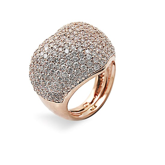 Ariella Collection Pavé Heart Ring, $45