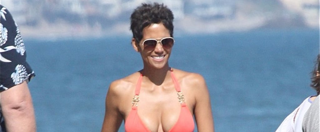Halle Berry's Hottest Bikini Moments Serve as Evidence That Age Is Just a Number