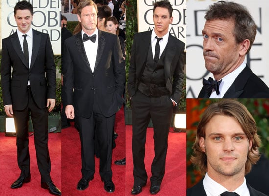 12/01/2009 Men of the Golden Globes