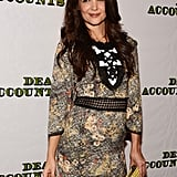 Katie Holmes attended the Dead Accountsafter party in NYC.