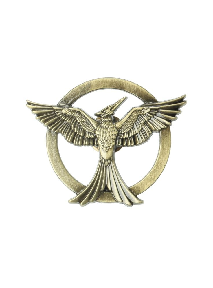 Alternate Mockingjay Pin ($10)