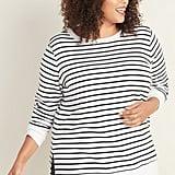 Old Navy French Terry Boyfriend Plus-Size Tunic Sweatshirt