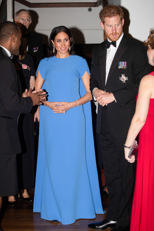Meghan Markle and Prince Harry Attend Fiji State Dinner 2018 | POPSUGAR  Celebrity