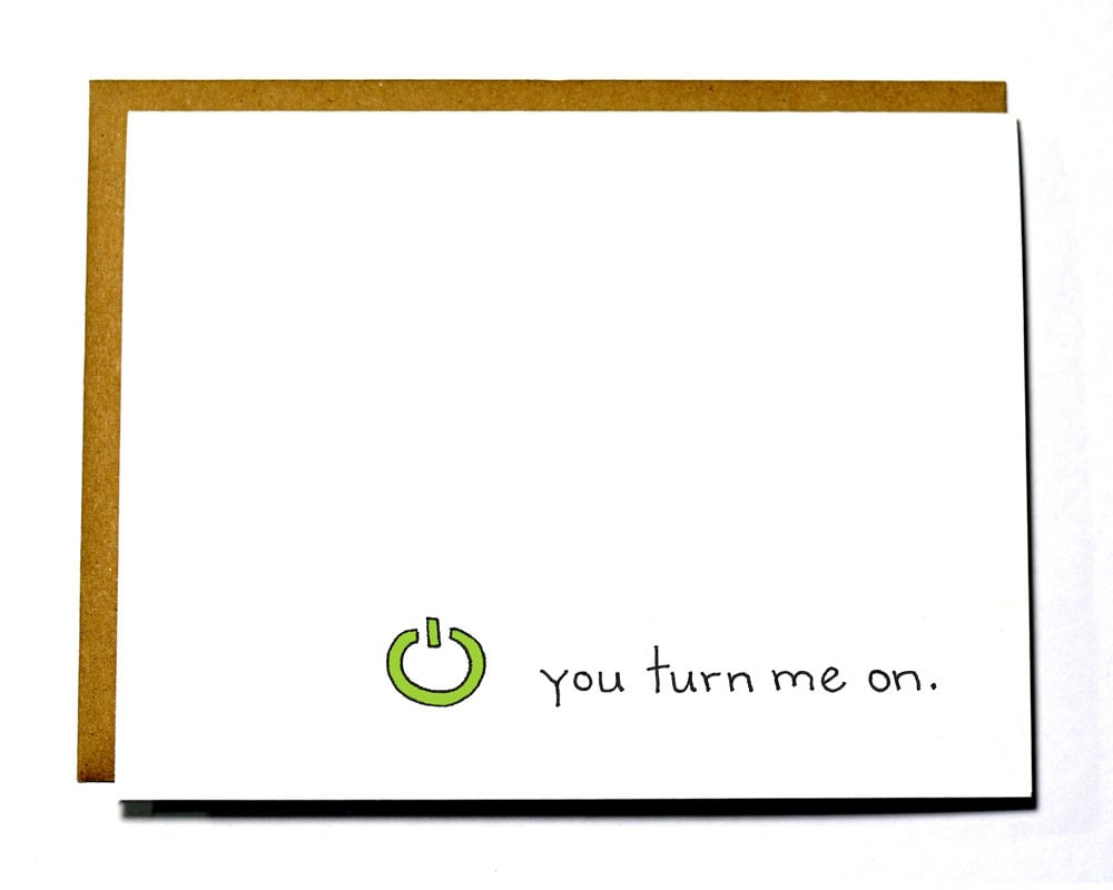 Xbox-lovers won't be the only ones to appreciate this punny turn-on card ($4).