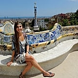 My Sam Edelman sandals kept my feet happy and comfy during a five-hour adventure through Park Güell in Barcelona during the Summer of 2014.