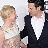 Michelle Williams and Luke Kirby were all smiles on the red carpet.
