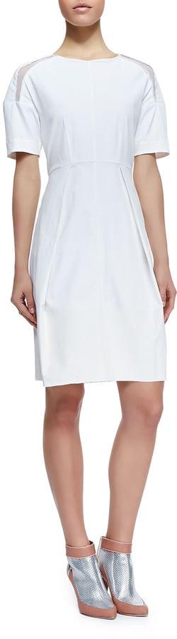 Rebecca Taylor White Dress