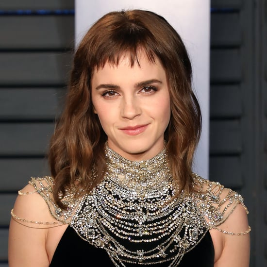 Emma Watson Hair at the 2018 Oscar Awards