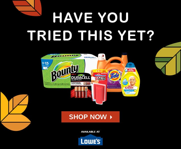Click here for more from P&G and Lowe's