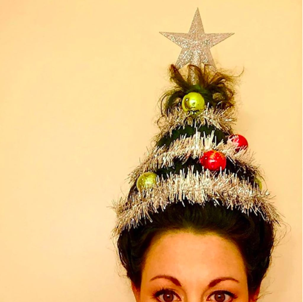 15 Wacky Christmas Tree Hair Creations That Put the Ha! in Holidays
