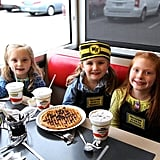 Waffle House Birthday Party