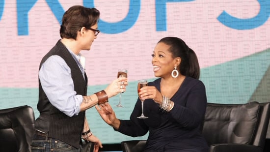 Video of Johnny Depp With a Shorter Haircut on Oprah