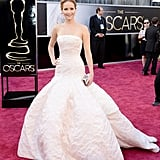 Jennifer Lawrence at the 2013 Academy Awards