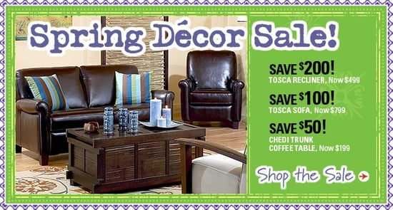 Sale Alert:  World Market's Spring Sale