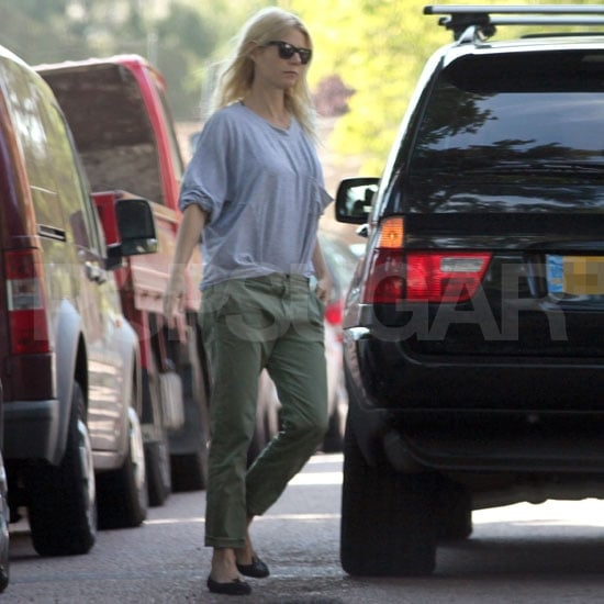 Gwyneth Paltrow Pictures With Daughter Apple in London