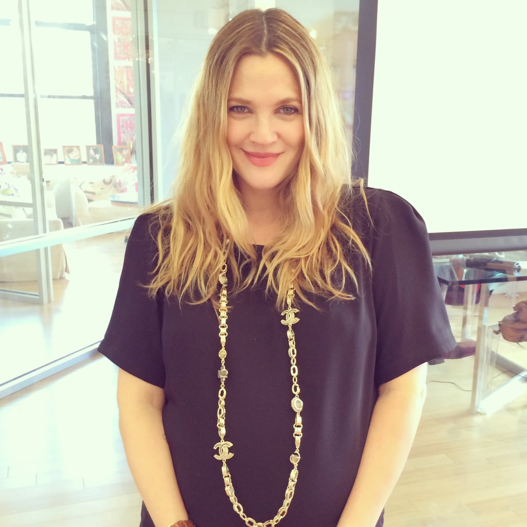 Drew Barrymore Interview Makeup Routine And Flower Beauty