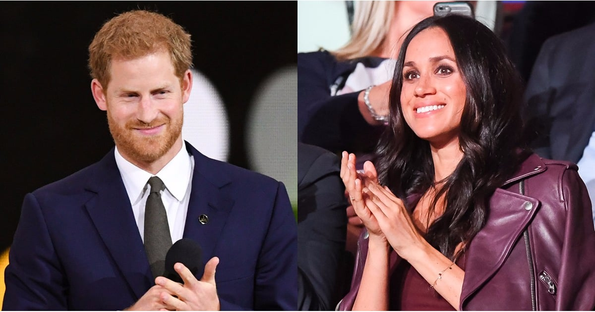Prince Harry and Meghan Markle Make Their First Public Appearance, and It's Royally Adorable