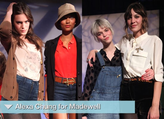 Photos from Alexa Chung for Madewell Launch in New York