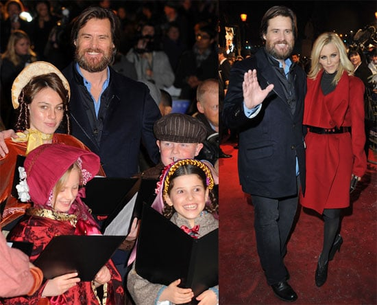 photos of jim carrey and jenny mccarthy in the uk for the premiere of a christmas carol 2009 11 03 151232 popsugar celebrity - Christmas Carol 2009
