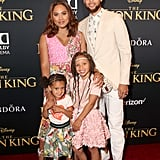Stephen and Ayesha Curry at The Lion King Premiere