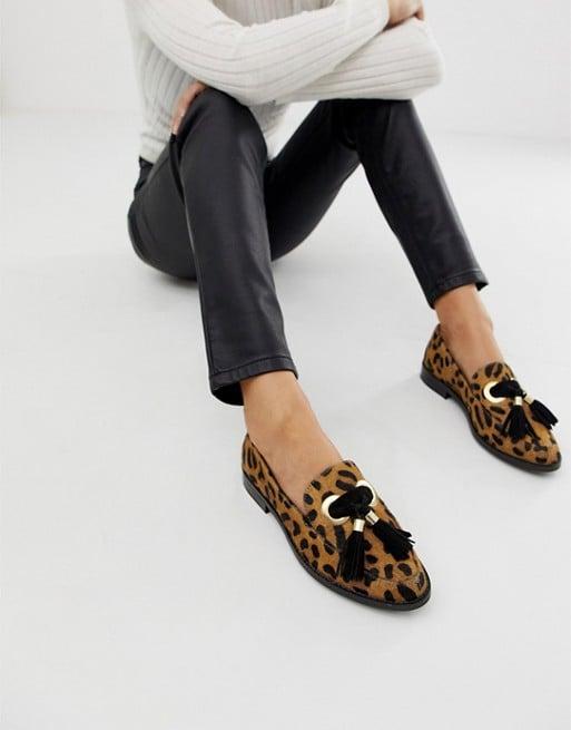 ASOS Leopard Loafer Flats