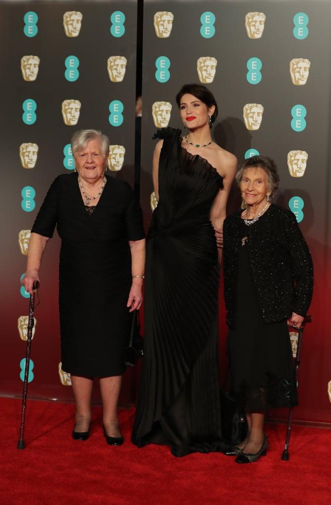 Gemma Arterton, Eileen Pullen and Sheila Douglass