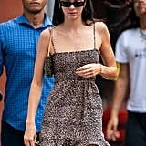 Kendall Jenner Wears Reformation Dress in NYC
