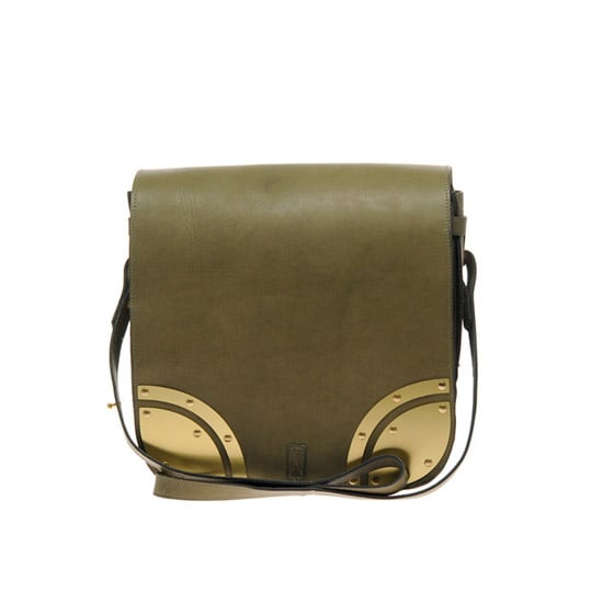 Sophie Hulme Khaki Armoured Saddle Bag, $792