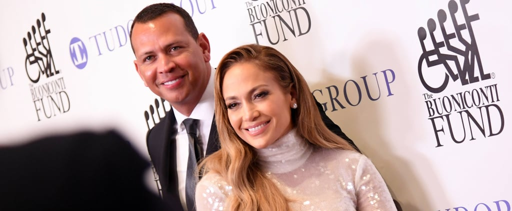 Jennifer Lopez and Alex Rodriguez at Great Sports Event 2018