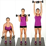 Dumbbell Deadlift, Curl, and Press