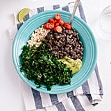 Vegan: Kale, Black Bean, and Avocado Burrito Bowl