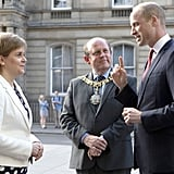 Prince William Visiting Scotland Pictures July 2018
