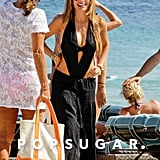 Sofia Vergara hit the beach in Mykonos back in July while wearing a maxi skirt.