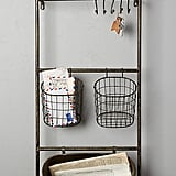 Anthropologie Iron Entryway Shelf Set